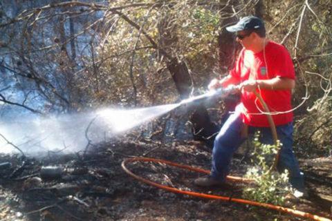 Πυρκαγιά στον Άγ.Μερκούριο 02-09-13