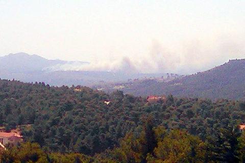 Πυρκαγιά στη Σταμάτα 21-7-2015
